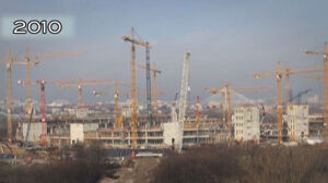 Budowa areny Euro 2012 w 30 sekund