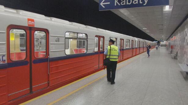 Stacja metra (zdjęcie ilustracyjne) Mateusz Szmeleter / tvnwarszawa.pl