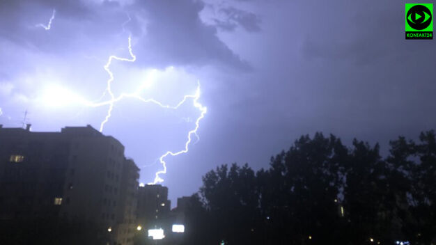 Nad stolicą przeszła burza. Wracają upały