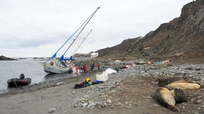 Dobre złego początki. Kapitan Polonusa o feralnym dniu wyprawy Shackleton 2014