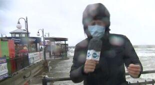 Relacja reportera TVN24 z Międzyzdrojów