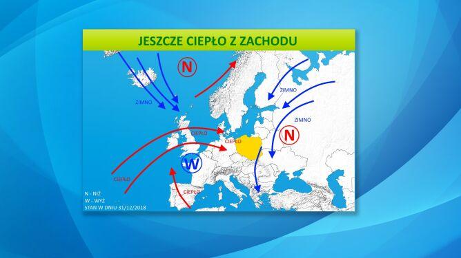 Sytuacja baryczna w Europie