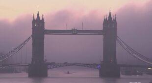 Londyn o świcie w pierwszy dzień lockdownu